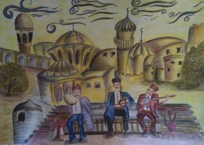 2211 Mikayelzade Fidan 12 SUMQAIT Sumqait art school AZERBAYIJAN